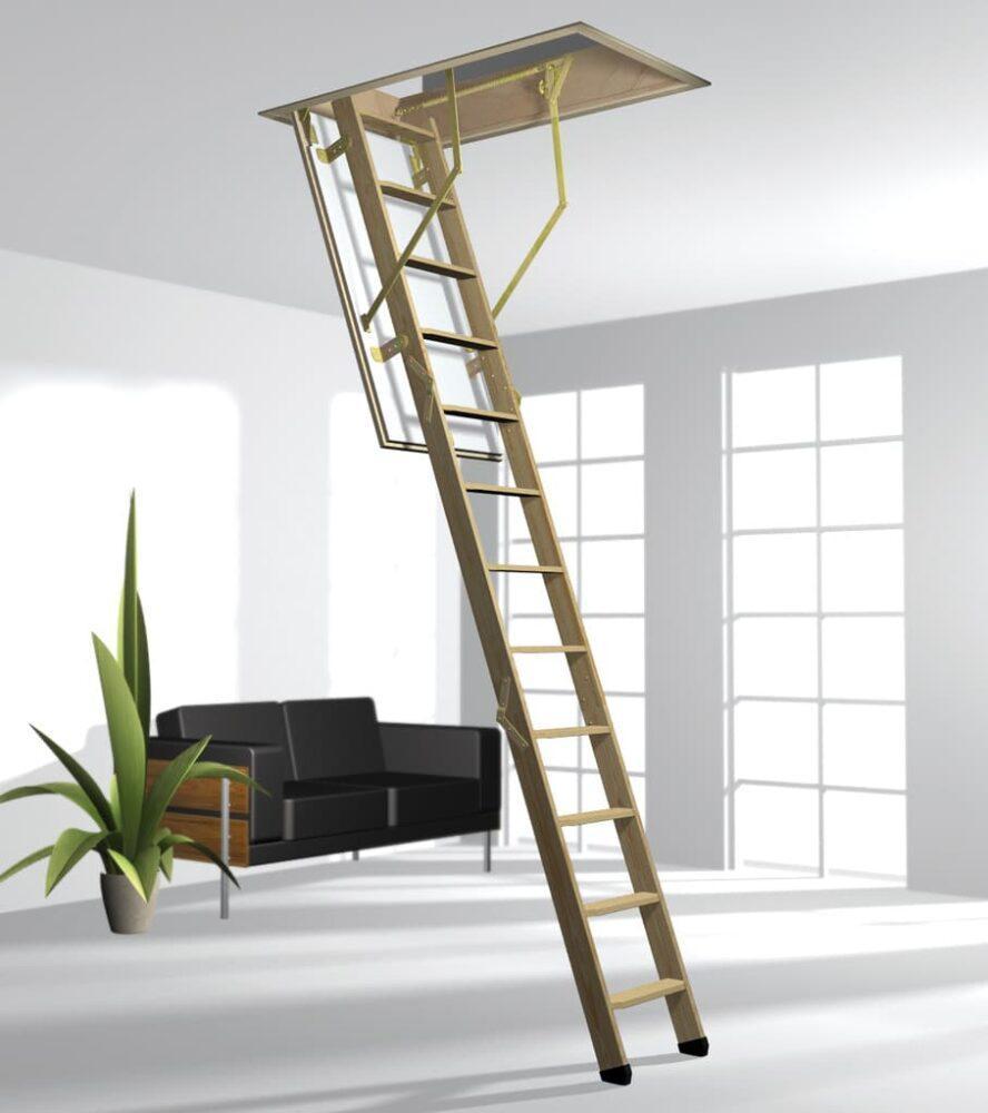 Надежные чердачные лестницы в Махачкале от компании «Технокровля»