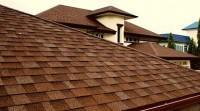 Красивая крыша из гибкой черепицы