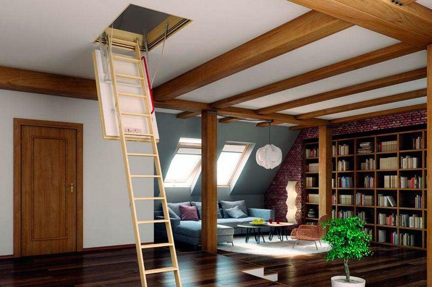 Мансардные лестницы FAKRO