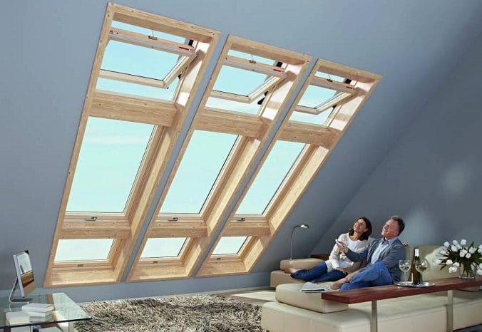 Мансардные окна: преимущества